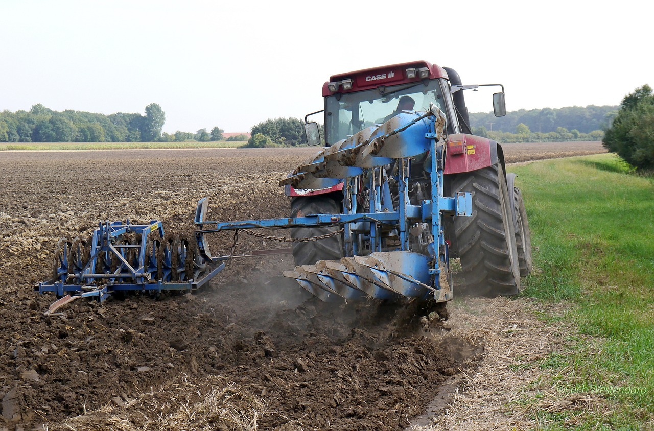 plow, tractors, münsterland